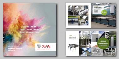 De nieuwe Alu-Coating folder
